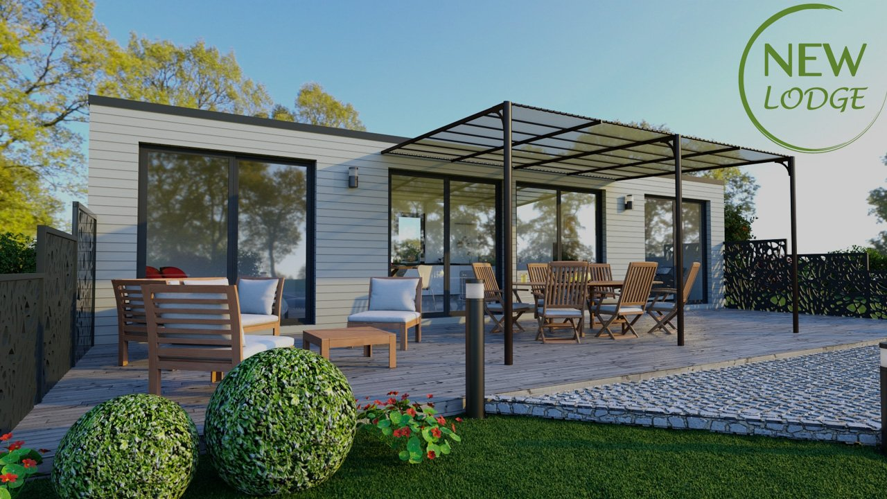 new lodge le domaine du lac votre r sidence secondaire sainte foy. Black Bedroom Furniture Sets. Home Design Ideas